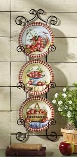 apple decorations for kitchen