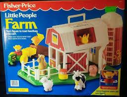 Fisher Price Barn Bounce House Vintage Unopened Little People Farm Chunky 2555 Farmer Barn