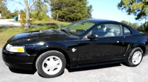 1999 ford mustang 1999 ford mustang coupe for sale black 3 895 00 sold