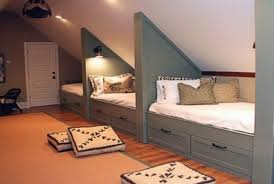 Cleverly Increase Living Space By Making Use Of Unused Attic - Living spaces bunk beds
