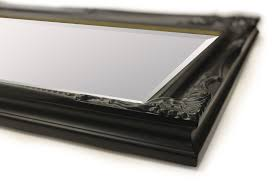 black hairdresser and salon beautiful mirrors full size and