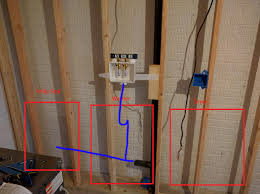 plumbing question about running new drain pipes in laundry room