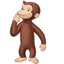 curious george cartoon clipart
