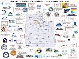 Map Of Utah Cities George K Baum U0026 Company Salt Lake City Ut