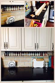 Under Cabinet Shelf Kitchen Best 25 Kitchen Spice Storage Ideas Only On Pinterest Spice