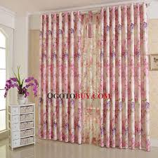 Pink And Purple Curtains Beautiful Purple And Pink Floral Curtain Poly Cotton Blend Fabric
