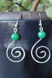 wire earrings 25 best handmade wire earrings ideas on wire earrings