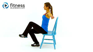 desk exercises at the office workout at work 32 minute chair workout video fitness blender
