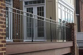 wrought iron balcony railings traditional terrace dc metro