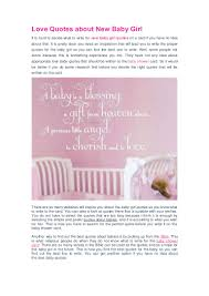 Quotes For New Love love quotes about new baby