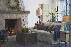 living room cool white rectangle modern leather pottery barn
