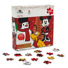 mickey mouse christmas puzzle shopdisney