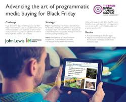 target black friday revenue case study john lewis infectious media