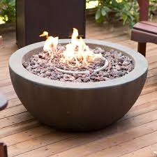 Fire Pit Lava Rock by Red Ember Mesa 28 In Gas Fire Pit Bowl With Free Cover Hayneedle