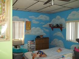 bedroom beautiful light creative painting in the teen decor