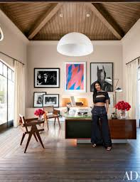 peek inside kourtney kardashian home office design in california