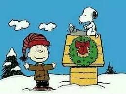 snoopy christmas dog house letter to santa brown peanuts christmas