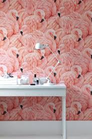 Wallpaper In Home Decor Mood Board Feel The Pink Flamingo In Home Decor Modern Home Decor
