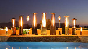 patio heater lights outdoor electric heater choosing a street heater for cabins