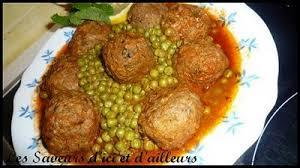 cuisiner des petit pois surgel boulettes de sardines aux petits pois recette algérienne fatiha