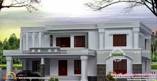 Flat Roof House March 2015 Kerala Home Design And Floor Plans