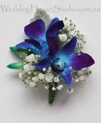 blue orchid corsage corsages buttonholes wedding flower studio wedding florist