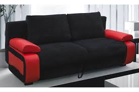 Black Sofa Bed Victor Fabric Sofa Bed Black