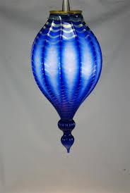 Glass Blown Pendant Lights Blue Blown Glass Pendant Lights Cobalt Best Fresh Aqua Light