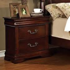 Furniture Of America IDFCH Rochelle Classic Daybed Cherry - Lorrand 5 piece cherry finish bedroom set