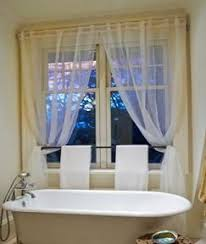 Bathroom Window Curtains 14 Best Bathroom Draperies Images On Pinterest Bathroom Ideas