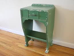 Shabby Chic Side Table Mcm Shabby Chic Green Side Table 1 Picked Vintage