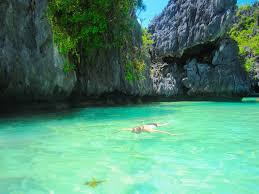 lexus company palawan snorkeling in the green lagoon bacuit bay jpg