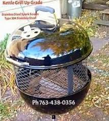 Weber Firepit Beautiful Weber Grill Pit Stainless Steel Standing Free