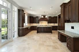 Laminate Kitchen Flooring by Kitchen Floor Farmhouse Large Kitchen With Many Recessed Lights