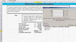 Mortgage Calculation Spreadsheet Calculating Mortgage Payment Monthly Interest Rate And Cumulative