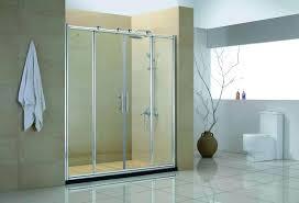 Shower Door Rails Remove Shower Doors Before Calcium Encrusted Shower Door