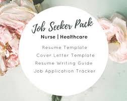 Job Seeker Resume by Resume Writing Etsy