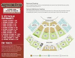 tickets singing christmas tree