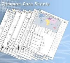 free common core sheets a great resource for math science