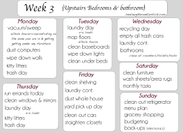 flylady printable checklists have week 1 and week 2 on my blog