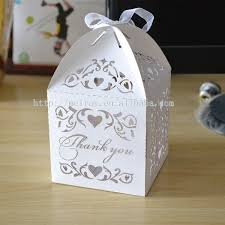 wedding souvenir wedding souvenir box party favor bags laser cut vines sweet