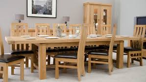 Extra Large Dining Room Tables by Simple Large Extending Oak Dining Table Also Modern Home Interior