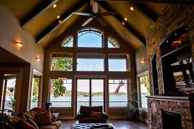 house plans with vaulted great room 3 story open mountain house floor plan asheville mountain house