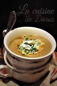 cuisine de doria velouté de chignons au bleu d auvergne la cuisine de doria