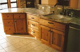 Kitchen Accent Furniture Furniture Rustic Holic Accent Kitchen With Knotty Wood Cabinet
