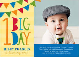 1st birthday invitation cards for boys festival tech