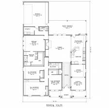 house plans on piers and beams small cottage 2open concept floor