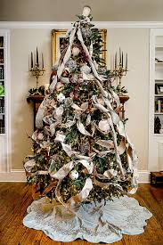 woodland elegance tree decorating ideas