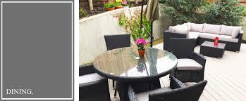 MODERN OUTDOOR FURNITUREKB FURNISHINGS - Upscale outdoor furniture