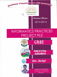 informatics practices project class xii databases computer data